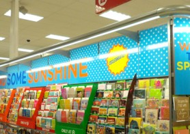 Display Design – Carlton Cards – Send some sunshine – Instore Display