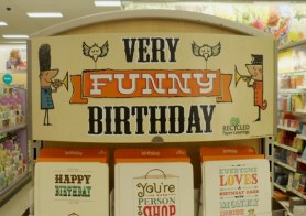 Display Design – Carlton Cards – Very Funny Birthday – Instore Display